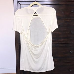 NWT Haute Hippie open back Top